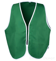 Green Womens' Safety Vest THUMBNAIL