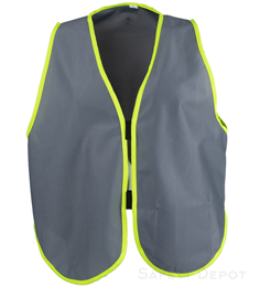 Gray Womens' Safety Vest THUMBNAIL