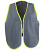 Gray Womens' Safety Vest SWATCH