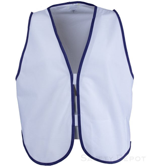 White Womens' Safety Vest MAIN
