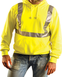 Class 2 high visibility sweatshirt