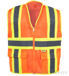 MESH CLASS 2 ORANGE SAFETY VEST_THUMBNAIL