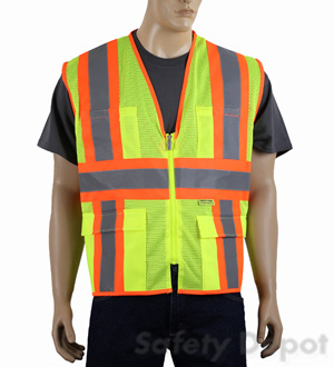 MESH CLASS 2 lime SAFETY VEST
