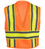 Orange Mesh Safety Vest_SWATCH