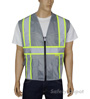 Professional Grey Mesh Vest Mini-Thumbnail