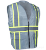 Professional Grey Mesh Vest SWATCH