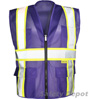 Professional Purple Mesh Vest Mini-Thumbnail