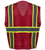 Professional Red Mesh Vest_SWATCH