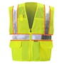 Yellow/Lime Mesh Safety Vest SWATCH