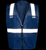 Royal Blue Mesh Safety Vest_SWATCH