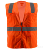 Orange Mesh Safety Vest SWATCH