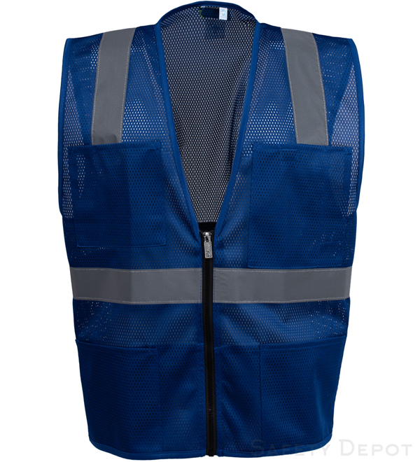 Royal Blue Mesh Safety Vest_MAIN