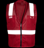 Red Mesh Safety Vest_SWATCH