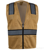 Tan Mesh Safety Vest SWATCH