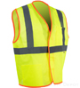 yellow lime economy safety vest_SWATCH