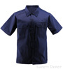 Navy Short Sleeve Work Shirt SWATCH