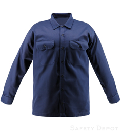 Navy Blue Work Shirt THUMBNAIL
