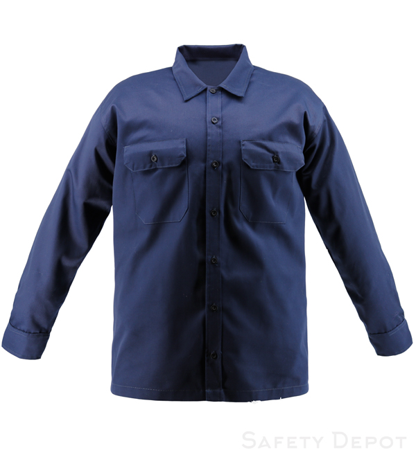 Navy Blue Work Shirt_MAIN
