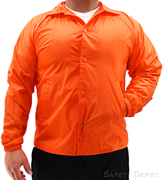 Orange Coaches Jacket THUMBNAIL