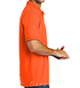 Orange Collared Safety Shirt SWATCH