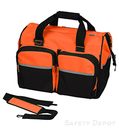 Deluxe Orange Gear Bag THUMBNAIL