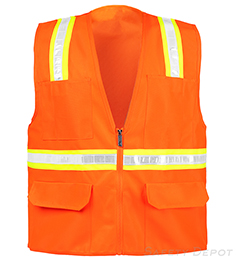 Safety Vest Orange Non Rated THUMBNAIL