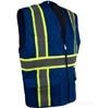 Professional Solid Royal Blue Vest SWATCH