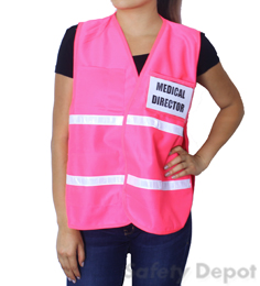 Pink Incident Command Vest