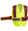 Red Public Work Safety Vest SWATCH