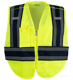Blue PublicWork Safety Vest THUMBNAIL