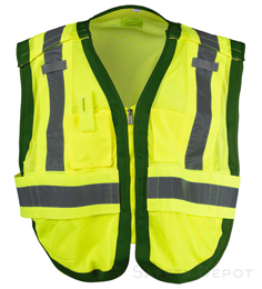 Public work Safety Vest PWB505-Green