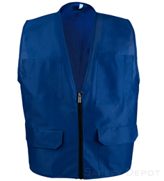 Royal Blue Safety Vest THUMBNAIL
