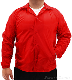 Red Coaches Jacket THUMBNAIL