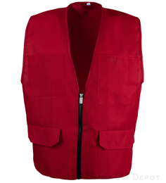Red Safety Vest THUMBNAIL