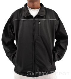 Soft Shell Black Jacket THUMBNAIL
