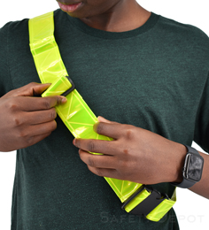 High Visibility Reflective belt THUMBNAIL