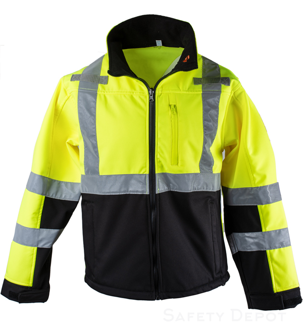 Reflective Soft Shell Jacket MAIN