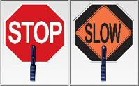 STOP/SLOW  Sign