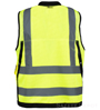 Surveyor lime yellow Safety Vest SWATCH
