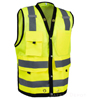 Surveyor lime yellow Safety Vest_SWATCH
