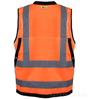Orange Surveyor Safety Vest SWATCH