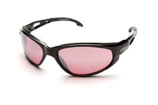 Rose Mirror Lens Sunglasses