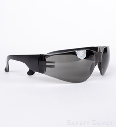 Gray Safety Glasses THUMBNAIL