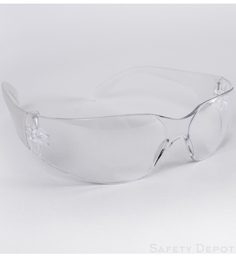 Clear Safety Glasses THUMBNAIL