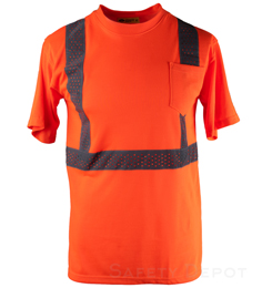 Orange Reflective T-Shirt
