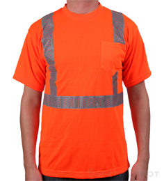 Orange Reflective T-Shirt THUMBNAIL