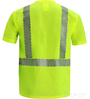 Yellow Class 2 Reflective Safety T-Shirt SWATCH
