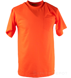 Hi Visibility Orange T-Shirt THUMBNAIL