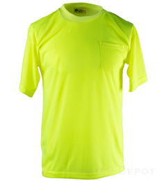 Yellow Short Sleeve Shirt_THUMBNAIL