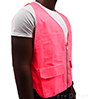 Unisex Pink Safety Vest SWATCH